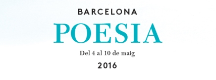 Setmana de la Poesia Barcelona 2016